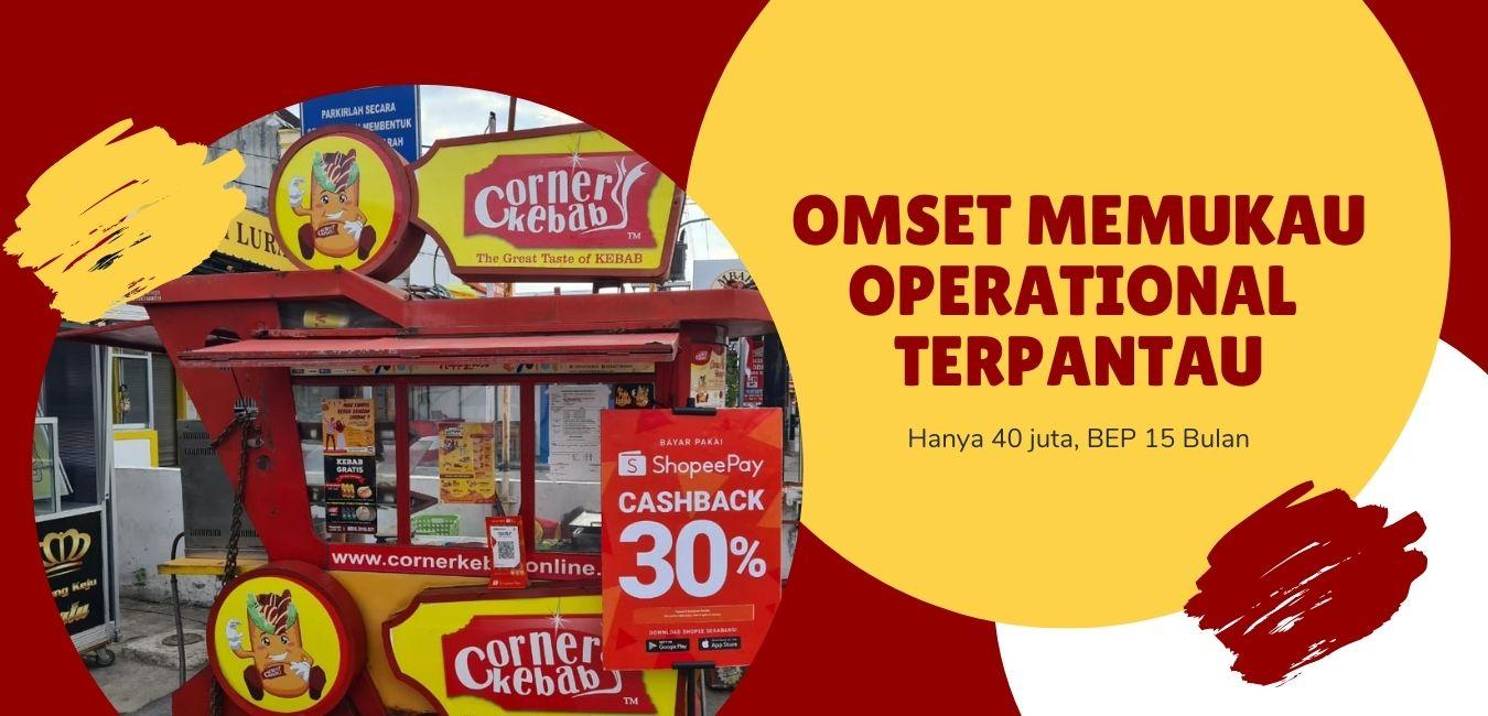bisnis masa pandemi corner kebab