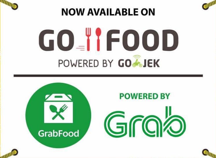 ICON GOFOOD GRABFOOD ONLINE